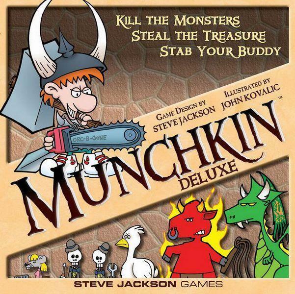 Munchkin: pentru atunci când vrei să te cerți cu prietenii
