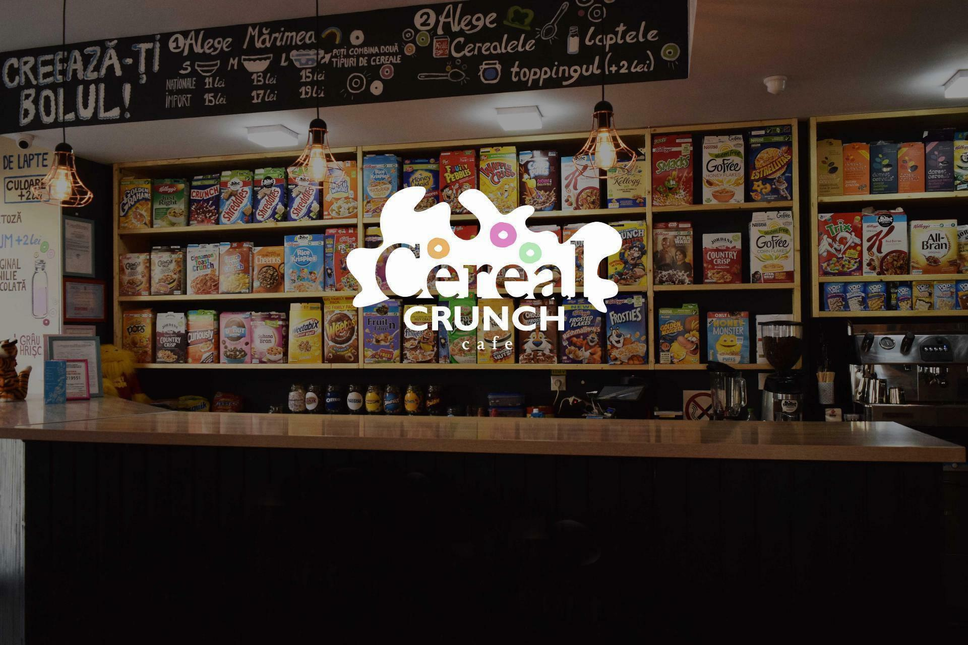 Cereal Crunch Cafe: Vrei cereale? Au Cereale.