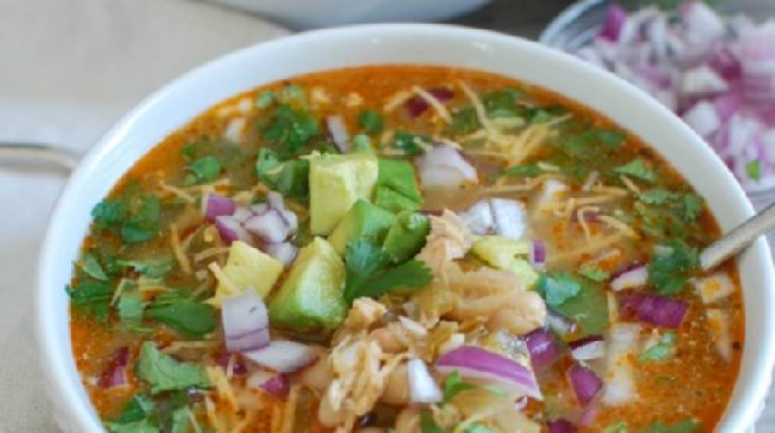 Imagine impresie Slow Cooker White Chicken Chili