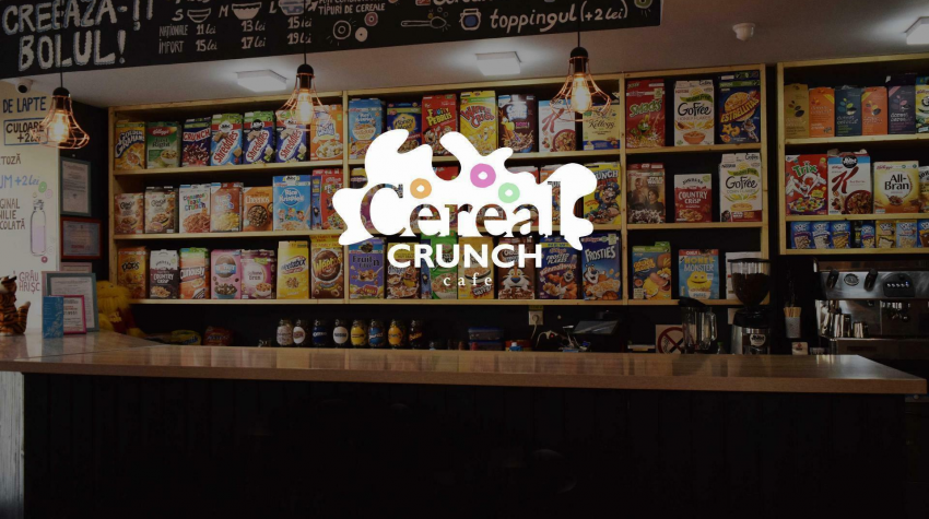 Imagine impresie Cereal Crunch Cafe: Vrei cereale? Au Cereale.